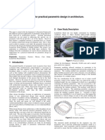 Frameworks for Practical Parametric Design in Architecture