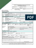 Formulario de Solicitud de Requerimientos Para Establecimientos Farmaceuticos