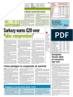 thesun 2009-04-02 page13 sarkozy warns g20 over false compromises
