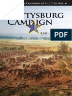 The Gettysburg Campaign June - July 1863
