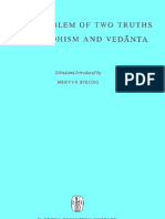 51411283 the Problem of Two Truths in Buddhism and Vedanta