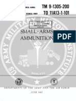 TM 9 1305 Small Arms Ammunition 1961 June
