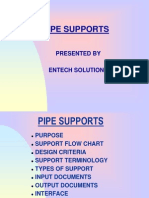 Pipe Supports design