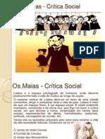 47662614 Os Maias Critica Social