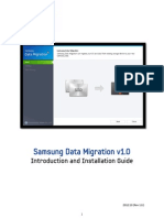Samsung SSD Data Migration User Manual English v1.0