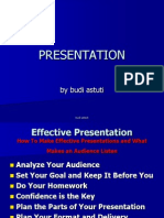 3 Guidelines for Effective Presentations