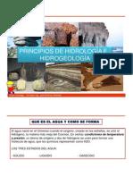 Principios de Hidrologiay Hidrogelogia