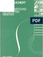 Heinz Teuchert Easy Guitar Pieces of Famous Masters