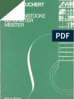 Heinz Teuchert Easy Guitar Pieces of Famous Masters