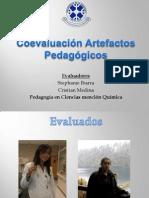 Coevaluación Artefactos Pedagógicos