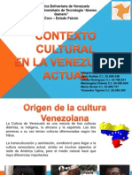 Contexto Cultural en La Venezuela Actual