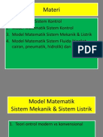MS-813 Model Matematik Sistem Mekanik