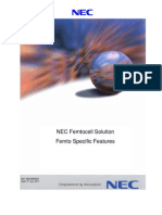 '11!01!05 NEC Femtocell Solution_Femto Specific Features