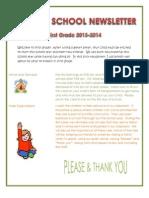 educ 215 - newsletter