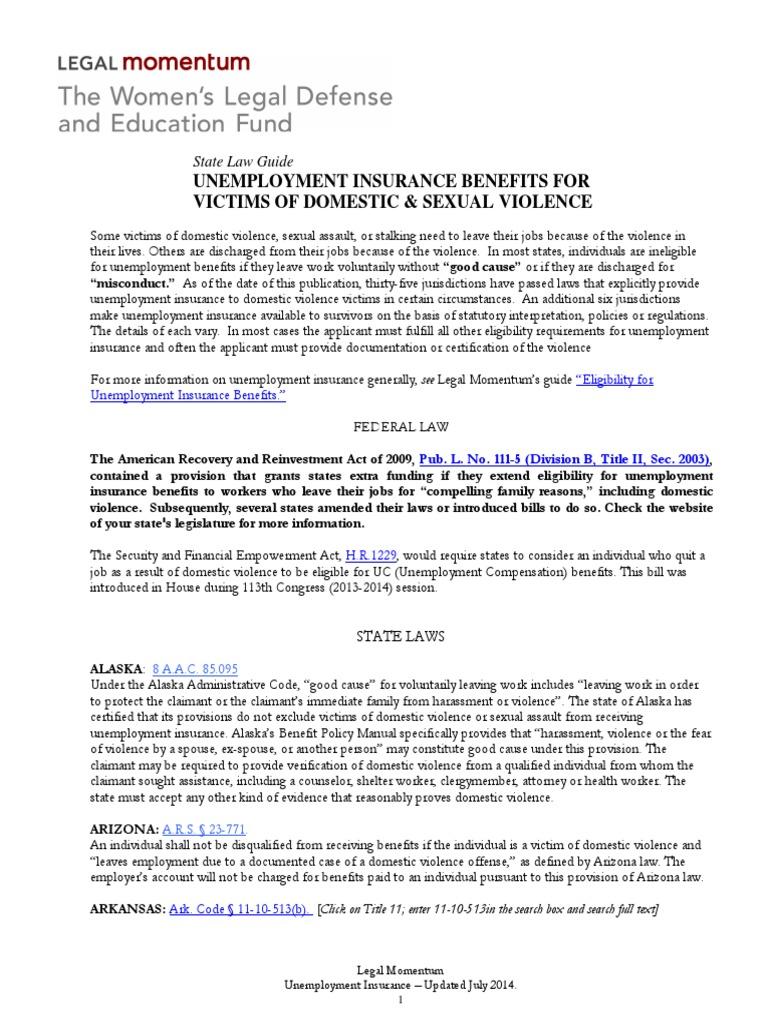 unemployment insurance state law guide | unemployment benefits