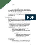 International Litigation Outline