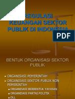 Materi 02.Regulasi Keuangan Sektor Publik Di Indonesia