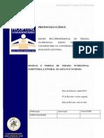 Protocolo Rotinas e Normas de Terapia Nutricional Parenteral e Enteral No Adulto e No Idoso