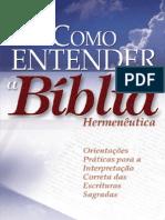 111606668 Como Entender a Biblia Antonio Renato Gusso