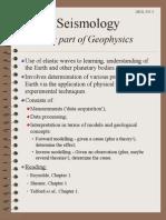 1 Geophysics