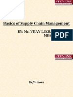 Vijay Ikhar -Basic Imp Supply Chain Mgmt