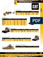 Catalogo Comparacion Maquinarias Caterpillar