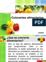 Colorantes y Pigmentos