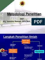 metodologi3 drg.soetomo nawawi,Sp.Perio
