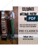 The Classics-An Annual Celebration of Poetry Roots Flier