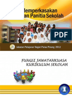 Manual Memperkasakan Pengurusan Panitia Sekolah