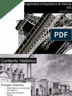 Engenharia e Arquitetura do Século XIX