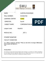 Mb0015 Compensation Benefits
