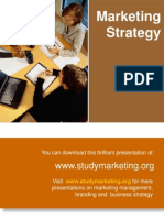 21574009 Marketing Strategy Ppt
