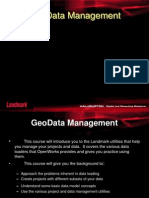 Geo Data Management in Open Works