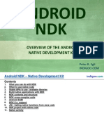 Android NDK - Native Development Toolkit