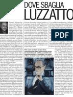 Lo Storico Giovanni de Luna Critica l'Impostazione Di Partigia, Il Libro Di Sergio Luzzatto - L'Espresso N.19