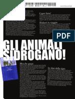 Animali che si drogano - by Samorini
