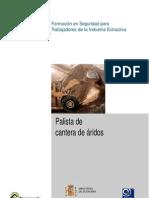 Ficha PRL Palista de Cantera de Áridos