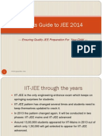 IIT JEE Information for Parents to guide their kids