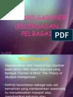 power point presentation kecerdasan pelbagai - howard gardner