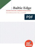 The Baltic Edge (pre-print draft)