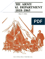 The Army Medical Department 1818-1865