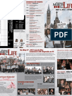 2013 March for Life Brochure