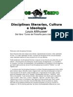 Althusser, Louis - Disciplinas Literarias, cultura e ideologia.doc