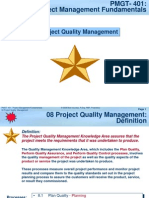 PMGT401-08 Project Quality Management-V04