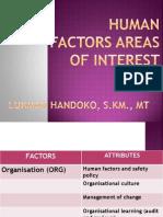 #3-Human Factors Areas of Interest