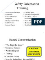 Basic Safety Orientation
