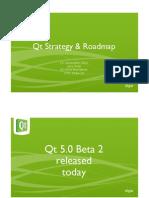 Qt Roadmap DD2012
