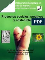 Preprograma XVIII Congreso Nacional de Sociología en Castilla-La Mancha ppt