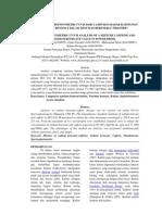 Analisis Spektrofotometri Uv